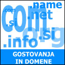 Gostovanja in domene